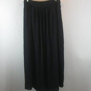 Banana Republic Skirts - Banana Republic Navy Maxi Skirt 10